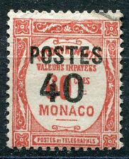 TIMBRE  MONACO N° 146  TAXE SURCHARGES