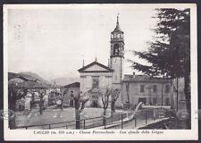 COMO CAGLIO 11 VALLASSINA GRIGNE Cartolina viaggiata 1957