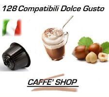 """128 Capsule Compatibili Nescafè Dolce Gusto® Miscela """"Cappuccino alla Nocciola"""""""