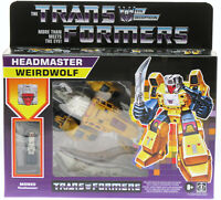 TRANSFORMERS ~ Headmaster Weirdwolf ~ Reissue ~ Decepticon ~ Hasbro