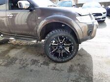 "Moto Metal 20"" Wheels MT Tyres Ford Ranger L200 HILUX DMAX 4x4 SHOGUN"