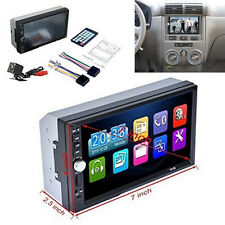 "7"" Car Video Player MP4/MP5 GPS FM Bluetooth Touch Screen Stereo Radio + Camera"