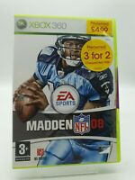Madden NFL 08 (Microsoft Xbox 360, unopened from game store including booklet