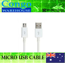 1m Micro USB Charger Data Sync Cable Samsung HTC Sony Huawei Fast Charging