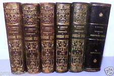ry 5-2 Dizionario di cognizioni utili - Mario Lessona 6 volumi  - UTET 1905-1919