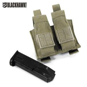 Blackhawk MOLLE Talonflex Double Pistol Mag Pouch- Olive Drab