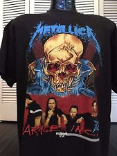 Vtg Metallica S&M Tour Shirt Sz XL Slayer Rock Thrash Megadeth Exodus Metal Ozzy