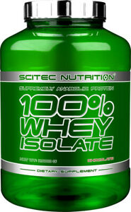 100% WHEY ISOLATE Scitec Nutrition, 2000 g (2,35 EUR/100 g)