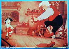 lampo figurines picture cards album figurine walt disney story 133 pinocchio abc