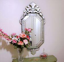 "24"" x 48"" Clear Venetian Art Deco Mirror Wall Decor"