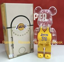 Medicom Be@rbrick NBA x Milk Magazine 400% Los Angeles LAKERS Bearbrick 1pc