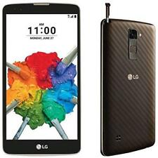 LG Stylo 2 K550 16GB Android Smartphone T-Mobile Brown Excellent Shape