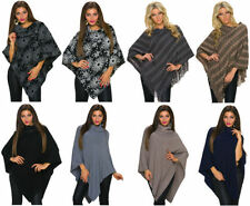 Wool Poncho Outdoor Coats & Jackets for Women
