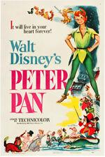 "Walt Disney Peter Pan Movie Poster Replica 13x19"" Photo Print"