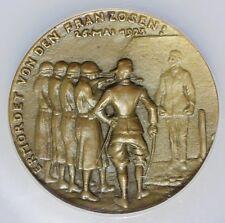 1923 Germany Albert Leo Schlageter Karl Goetz Bronze Medal NGC MS 64 BN Kie-300