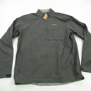 Patagonia Jacket Mens Extra Long XL Long Sleeve Full Zip Gray Lightweight Casual