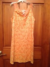 Bonnie Jean Girls Dress Size 14 Sundress Fully lined