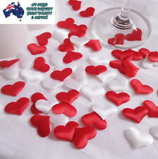 500 Wedding Scatters Red Hearts Puffy Party Decor Decoration Confetti Table