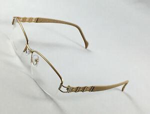 New STEPPER SI-50207 F010 Women's Eyeglasses Frames 53-16-135