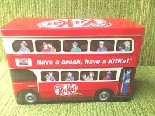 NESTLE - KITKAT- RED LONDON BUS SHAPED TIN - circa 2015 - EXCELLENT CONDITION