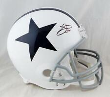 53f0894e596 Emmitt Smith Autographed F/S Dallas Cowboys 60-63 TB Helmet- Beckett Auth