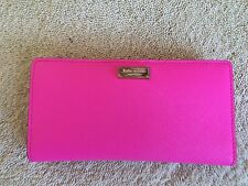 Kate Spade New York Stacy Continental Wallet (Hot Pink)