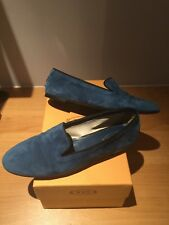 "Tods Blue Suede Ladies Shoes/Flats/pumps/loafers ""BEAUTIFUL"" ...£300+"