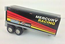 Vintage Nylint Mercury Racing Semi Trailer Pressed Metal & Plastic 1989