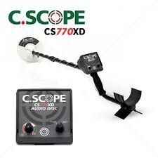 METAL METAL DETECTOR C.SCOPE C-SCOPE CS770XD GOLD COINS SEARCH