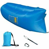 Inflatable Air Bed Sofa Camping Travel Holiday Beach Air Sleeping Bag From USA