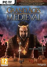 Grand Ages Medieval Limited Special Edition- PC DVD - New & Sealed - Free UK P&P