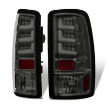 For 00 01 02 03 04 05 06 Gmc Yukon Denali Tahoe Smoked Tail Lights Brake Lamps