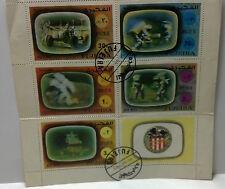 1972 Fujeira 'Apollo 16' stamps