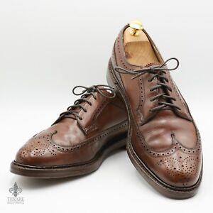 FLORSHEIM IMPERIAL Longwing Kenmoor Gunboat Bluchers 5-Nail 10.5D Vintage Shoes