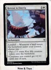 Magic: MTG: Battle for Zendikar: Foil: Retreat to Emeria