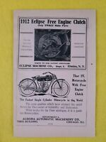 Vintage 1916 Thor IV Motorcycle Advertisement Ad