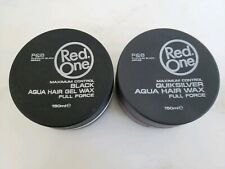 REDONE BLACK & QUICKSILVER AQUA HAIR GEL WAX FULL FORCE | MAXIMUM CONTROL | NEW