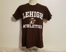 Lehigh University Athletics Mt. Hawks Adult Small Brown TShirt