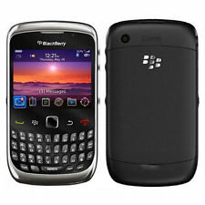 Good Condition BlackBerry Curve 9300 Black Unlocked 3G Smartphone - 12M Warranty