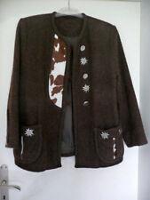 TRACHTEN Jacke mit Kuhfelleinsätzen Gr. 40