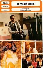 FICHE CINEMA : LE VIEUX FUSIL - Noiret,Schneider,Bouise,Enrico 1975 The Old Gun