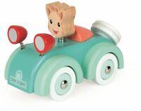 Janod SOPHIE LA GIRAFE CAR Wooden Toy BN