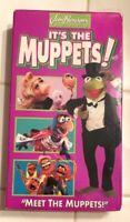 "It's the Muppets! - ""Meet the Muppets"" (VHS, 1997) Kermit, Miss Piggy NEW"