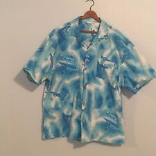 Vtg 90's Surfer Button Down XL Shirt, Benny's, San Diego Surfer