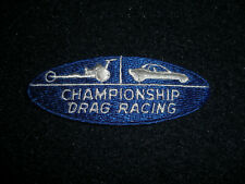 NHRA Championship Drag Racing Hat Shirt Patch Vintage 1989's