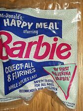 1991 McDONALD'S KIDS HAPPY MEAL TOY-BARBIE-MY FIRST BALLERINA BARBIE! NEW!