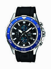 Casio Men's EFM501-1A2 Edifice Analog Display Quartz Black Watch
