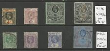 SIERRA LEONE 1912-27  GV USED SELECTION OF 8 CAT £31+ SEE SCANS