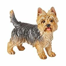 More details for zeng outdoor statues-realistic yorkshire terrier dog polyresin statue-garden and