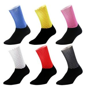Slip Silicones Cycling Socks Professional Breathbale Basketball Feet Protections